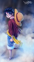 Luffy 689 by Yahik0