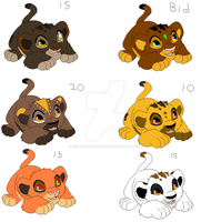 New born lion cub adopts ~Open~ by cookiesandcheesecake
