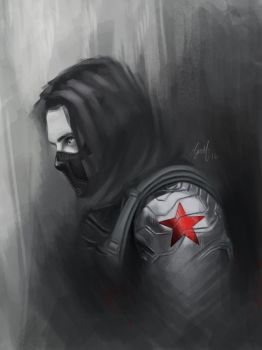 The Winter Soldier by charliefinn