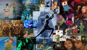 Peter Pan Wallpaper by red-devil-saz