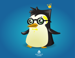 Pinguin by x-m4n