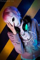 FISHEYE PLACEBO FREY COSPLAY Behind the mask by KoujiAlone