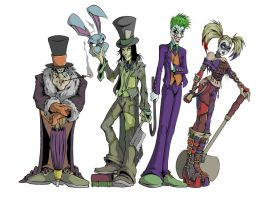 last - for now - batman villains by UndeadComics