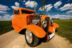 1932 Blown Ford Coupe III by AmericanMuscle
