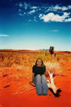 Fakation to Uluru, Australia by gwumpysmurf