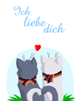 Ich liebe dich by TeAmericanWolf
