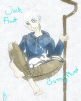 Jack Frost and little Bunnymund by YourBocchan