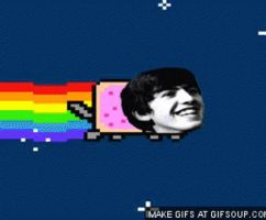 Nyan George by TheOriginalBeatleBug