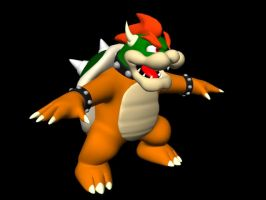 Bowser 3D by philbot
