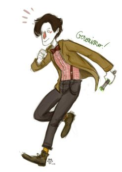 Dr Who - Matt Smith by Little-Mana