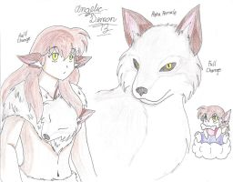 Wolf Girl by Angelic-demon13