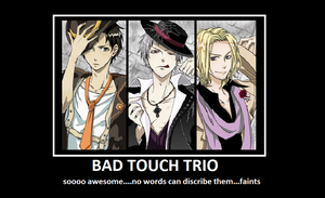 Bad Touch Trio by Doitsu1313