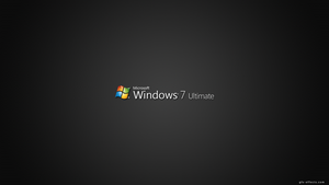 Windows 7 Ultimate by ant-ony