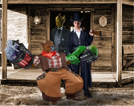 Paternoster Gang - Western by Dragoon23