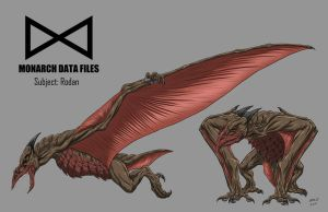 Monarch Data Files: Rodan by KaijuDuke
