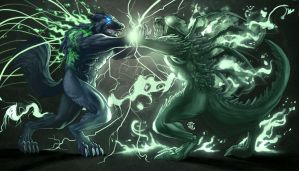 Riptor versus Void Commission by StriderDen