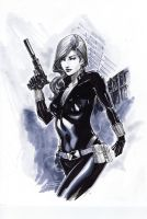 Black Widow by Peter-v-Nguyen