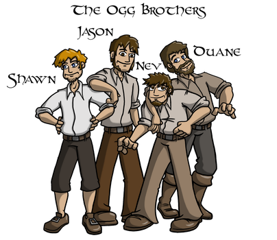 The Ogg Brothers by Iddstar