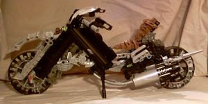 SpinOut- bike mode sideview by dinshino