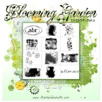 Blooming Garden PhotoMasks by Diamara
