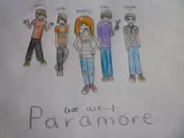 We Are PARAMORE... by ally81876