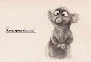 Remy - Keep Your Chin Up by Mitch-el