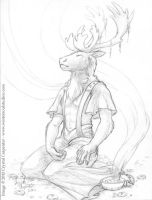 Caribou's Focus by soulofwinter