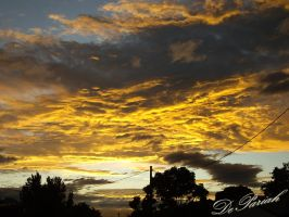Sunrise over Cairns by DePariah