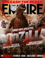 Godzilla: April Empire Cover (G14) by GIGAN05