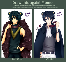 Meme: Before and After Eriko by Chanz-diri