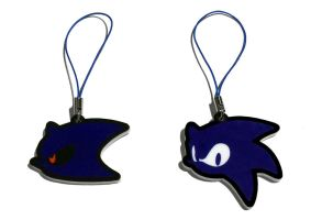 Sonic the Hedgehog || Metal Sonic Charms by tentenswift