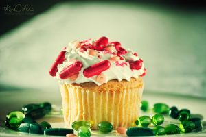 Pills Cupcake_II by cande-knd