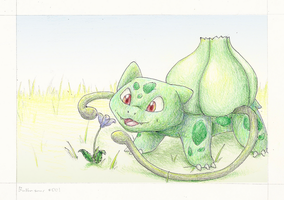 Bulbasaur by wanton-fox