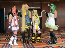 Vocaloid Hearts by KidWithTheBackpack