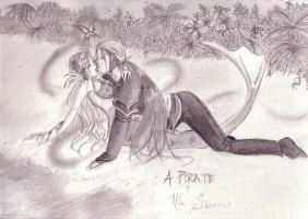 A Pirate and His Siren by Black-Magic-Fairy412