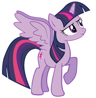 Alicorn Twilight Sparkle Vector by MelodyCrystel