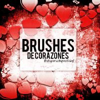 +BrushesdeCorazones by ButYourSoHypnotising