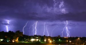 Storm In Dubuque by RDTP