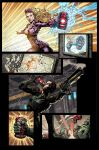 DreadCore comics #1, p.2 color by aka-EX