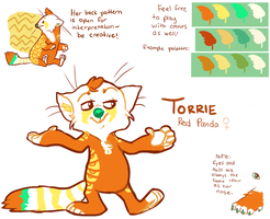 Torrie Reference by starsweep