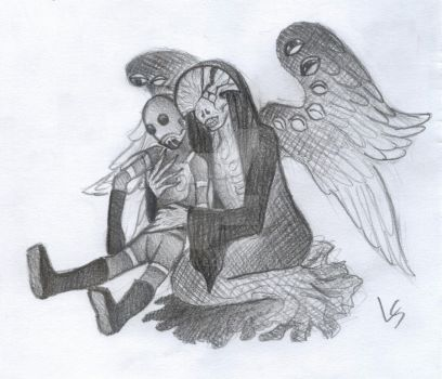 Angel of Death's New Puppet by LadyScale