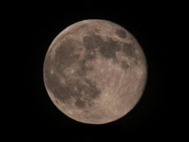 Super Moon: June 23rd, 2013 by TemariAtaje