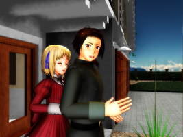 ::+MMD R-Welcome Home+:: by Apple-Rings