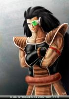 Raditz, the space conqueror by Ryoishen