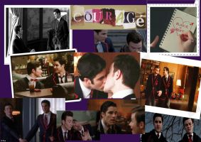 Klaine Photo Collage by 13Shao13