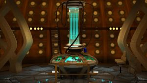 Doctor Who 9th Doctor TARDIS Update by Davros-the-2nd