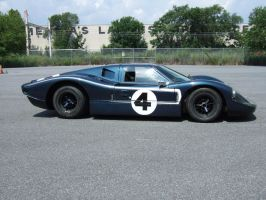 Ford GT-40 MK IV J-8 by Aya-Wavedancer