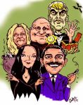Addams Caricature funface.com by Caricature-Guy