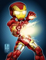 Lil Avengers - Iron Man by lordmesa
