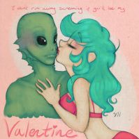 Creature Feature Valentine by Tell-Me-Lies